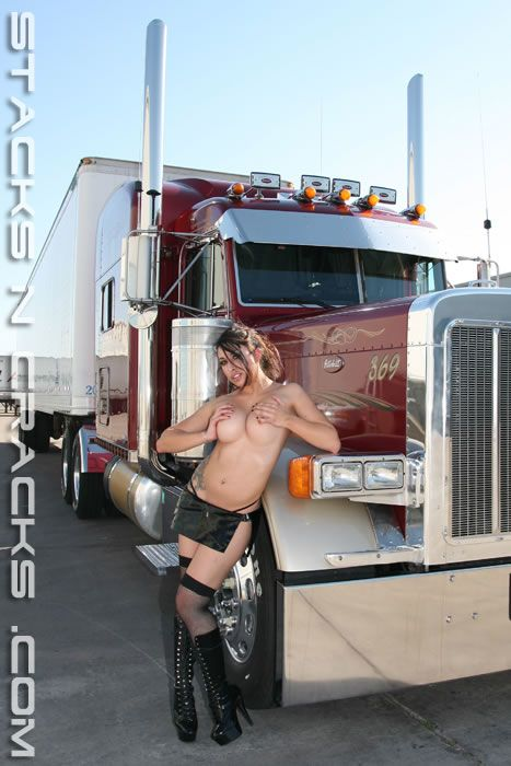 Big rigs with naked girls