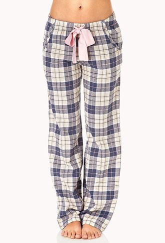 #ForeverHoliday   Yes, these look sooo cozy!   Cozy Plaid PJ Pants   FOREVER21 - 2000075876
