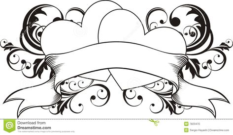 Heart Loveers Tattoo Stock Photo - Image: 7823470