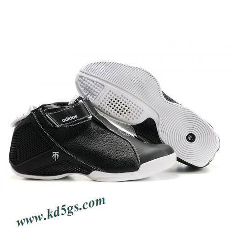 fe832df85544 Adidas T-Mac 4 Tracy McGrady Shoes Black White