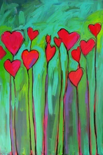 Patty Baker Fine Art Blog - Original Acrylic Paintings: Wild at Heart