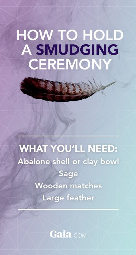 How to Hold a Smudging Ceremony | Gaia