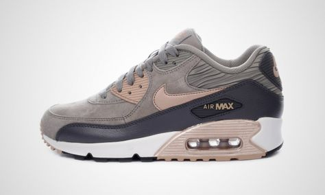 Shop Nike brown Air Max 90 Lthr 768887 201 for Women in