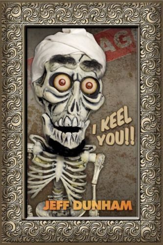 141723603 New Jeff Dunham Achmed Poster 1404 Trends International 22x34 + rolled  sealed