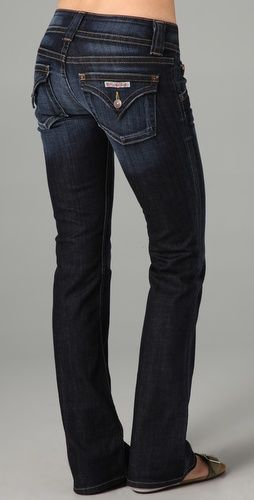 LOVE LOVE LOVE!!!!!!!!!!!! Gotta have a pair!!!!!!!!!!!!!!1Signature Boot Cut - Hudson Jeans Always loved the look of these jeans!
