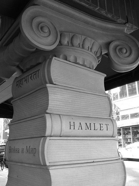 The Pillar of Books (detail) at Powell's City of Books | Flickr - Photo Sharing!