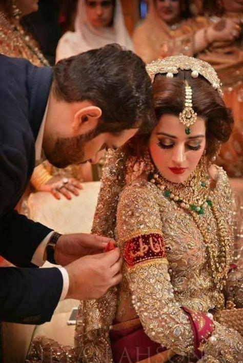 Bridal Walima Makeup/Asian Bridal Walima Makeup With Hair Styles