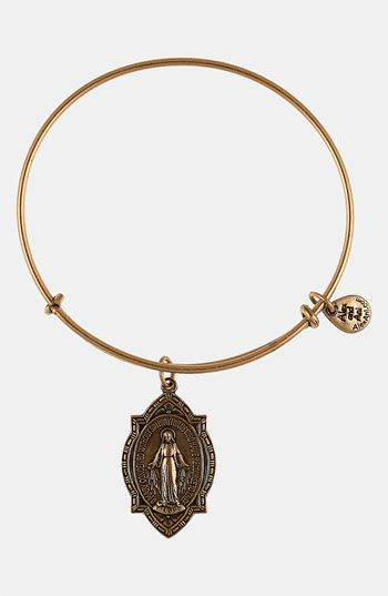 Need to replenish my stolen collection!! Alex and Ani 'Mother Mary' Wire Bangle available at #Nordstrom