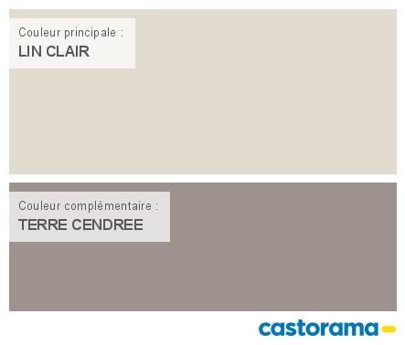Castorama Nuancier Peinture   Mon harmonie Peinture LIN CLAIR