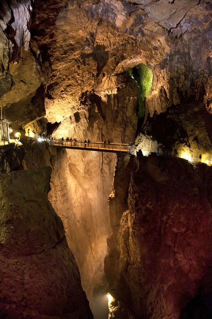 Postojna Cave in Ljubljana Slovenia Places Around The World, Oh The Places You'll Go, Places To Travel, Places To Visit, Around The Worlds, Wonderful Places, Beautiful Places, Beautiful Pictures, Amazing Places
