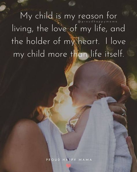 A mother's love is all encompassing! An we think these beautiful mothers love quotes capture the love a mother has for her child perfectly. #momquotes #motherhoodquotes #momlife #Ilovemykids