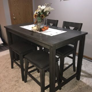 Caitbrook Counter Height Dining Table Ashley Furniture Homestore In 2021 Apartment Dining Room Small Dining Room Table Tall Dining Room Table