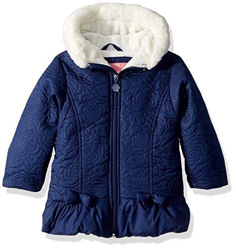 Steve Madden Baby Girls Cotton Anorak Jacket