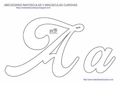Moldes De Letras Cursivas Mayúsculas Y Minúsculas Material Educativo Molde Letra M Letras Do Alfabeto Para Impressão Molde Letras Feltro