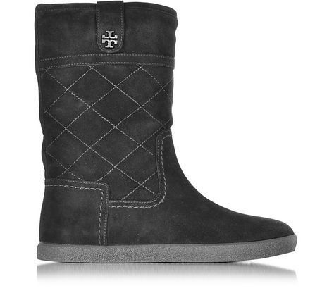 e42a3ee1633 TORY BURCH Alana Black Suede Boot.  toryburch  shoes