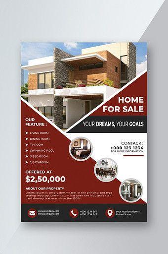 Real Estate Flyer Psd Free Download Pikbest Real Estate Marketing Design Interior Design Presentation Real Estate Flyer Template