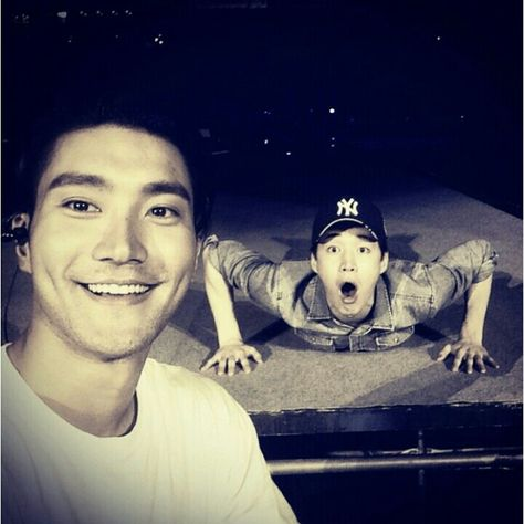 Siwon with Henry <3