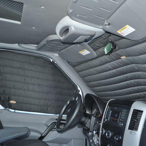Insulating Curtains, 3 piece cockpit kit