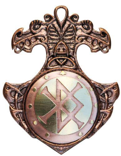 Sterling Silber Wikinger Pentagramm Runen Futhark Keltische Knoten Wiccan Ring