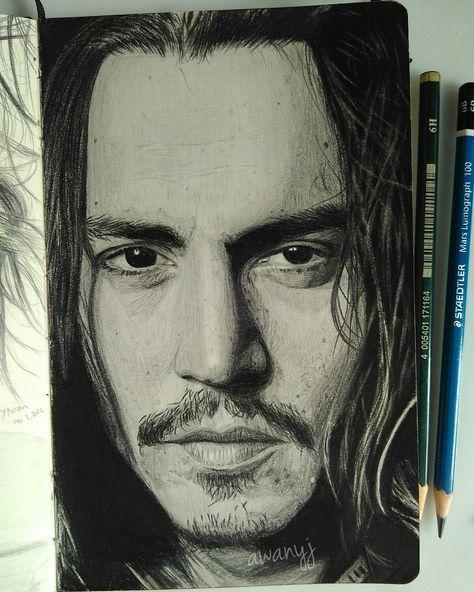 Draw Drawing Pencil Portrait Pensil Lukisan Gambar Lukisan Pensil