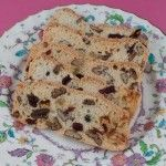 Cranberry, White Chip and Pecan Biscotti Thins