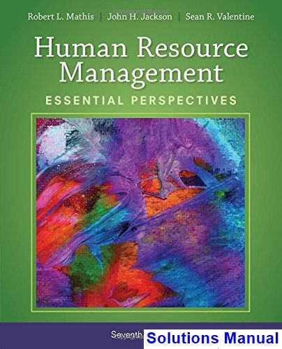 Human Resource Management Essential Perspectives 7th Edition