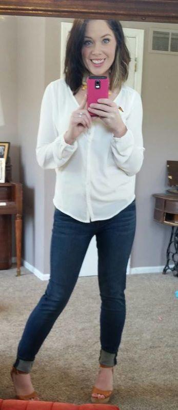 Stitch Fix Review Stitch Fix Stitch Fix Outfits How To Wear Flannels