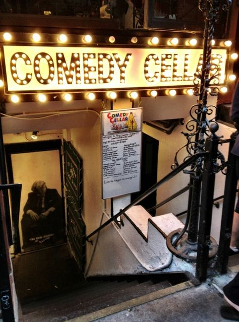 First trip Comedy Cellar  Manhattan NYC  Hysterical! Well worth the $14 cover (for Sunday).  060312