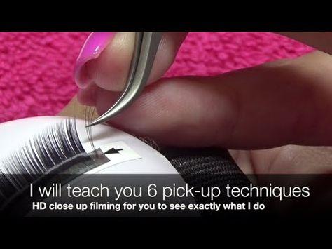 dc7f3171056 Volume Eyelash Extension Tutorial 101: 3D-6D Volume Lash Application -  YouTube