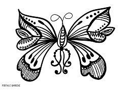 Disegni Di Farfalle Da Colorare Butterfly Farfalle Coloringpages