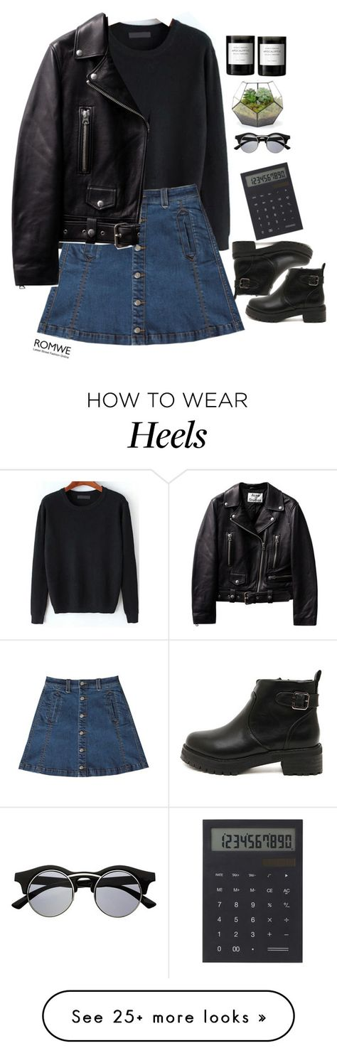"""""""#Romwe"""" by credentovideos on Polyvore featuring Retrò, Bebe, IDEA International and Byredo"""
