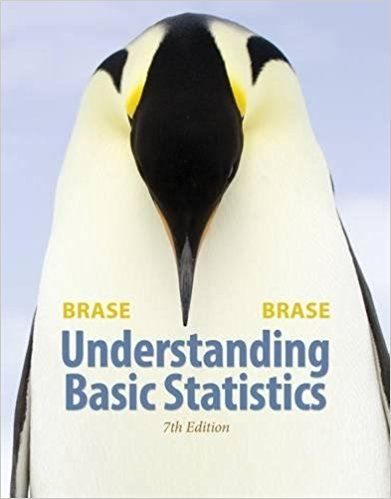 Understanding Basic Statistics 7th Edition Brase Solutions Manual