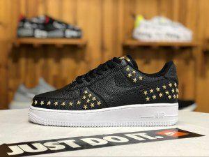 Nike Air Force 1 Low Stars Black Gold