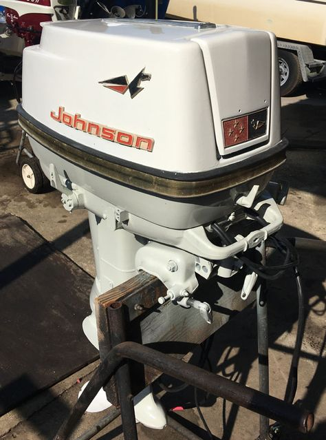 1966 40 Hp Johnson Outboard Antique Boat Motor For Sale In 2021 Boat Motors For Sale Outboard Motor