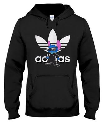 Official Adidas Disney Stitch shirt