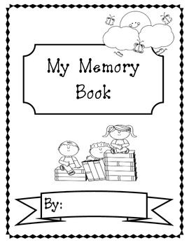 picture relating to Printable Autograph Book for Students called Close of the 12 months Things to do and Memory Ebook conclusion of the yr