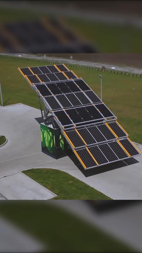 Mobile solar container helps harness solar power in any location.