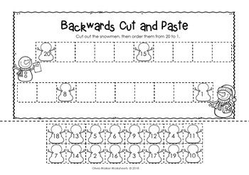 Counting Backwards From 20 Twenty Worksheets And Printables