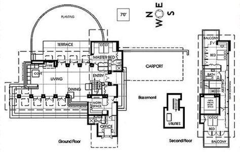 A Lapiseira Plan 396 Frank Lloyd Wright Jacobs House Frank Lloyd Wright Usonian Frank Lloyd Wright Usonian House