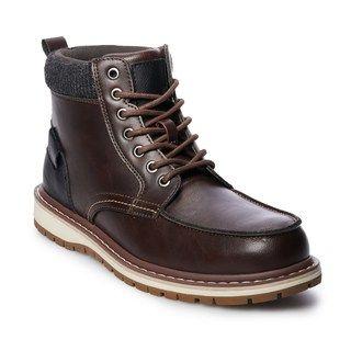 3e7eafe1632 SONOMA Goods for Life™ Abraham Men's Ankle Boots | Mens fashion ...