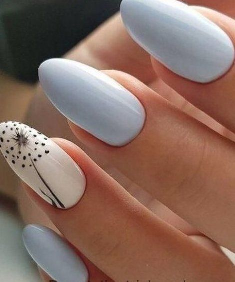 Can You Get Hiv From A Manicure Bright Sky Blue Nail Art Designs Voor De Lente Zomer 2019 Nageldesign Art Blue Bright De Designs Len In 2020 Cute Spring Nails Spring Nail Art Cute Nails
