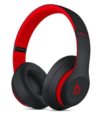 Beats By Dr Dre Studio 3 Wireless Headphones Black Red In Ear Headphones Wireless Headphones Best Over Ear Headphones