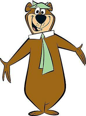 Yogi Bear Iron On Transfer For T Shirt Other Light Color Fabrics 11 Ebay Bear Cartoon Classic Cartoon Characters Yogi Bear