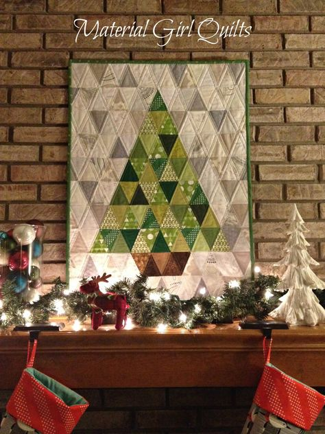 oh Christmas Tree quilt