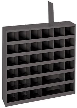 Model 735 95 12 Inch Deep 84 Bin Tall Cabinet Cold Rolled Bin Rack Closet Organization Cheap