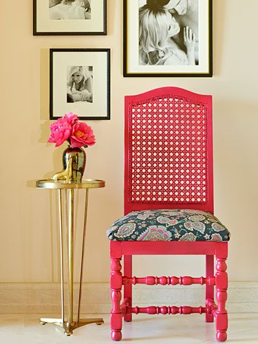 How To Reupholster Furniture - DIY Reupholstering Tips From Tori Spelling - Redbook