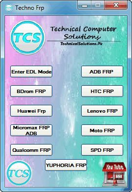 Techno FRP Tool 2018 Free Download Link | Download | Techno
