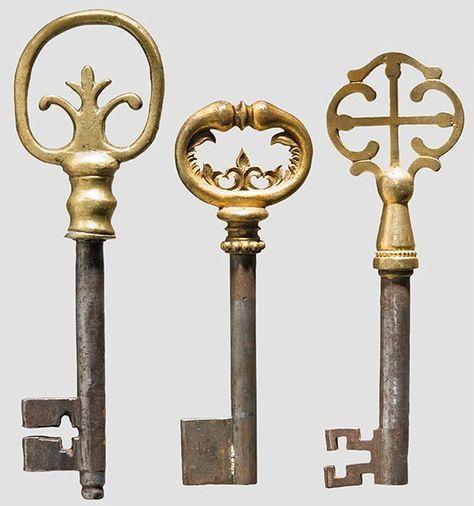Antique Victorian Mortise Lock Works With Folding Skeleton Key Jn ... | ☜  Fascinating World Of Keys & Locks ☞ | Pinterest | Mortise lock and Skeletons - Antique Victorian Mortise Lock Works With Folding Skeleton Key Jn