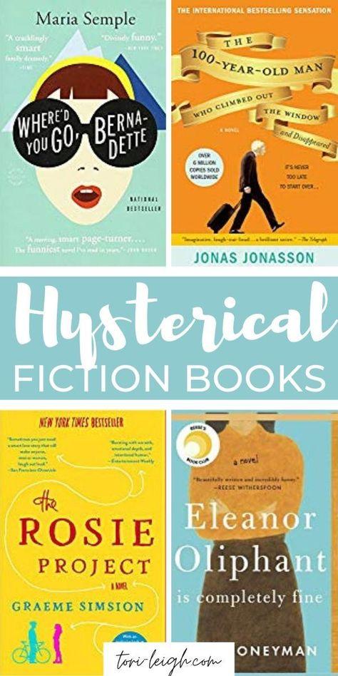 12 Funny Book Club Books