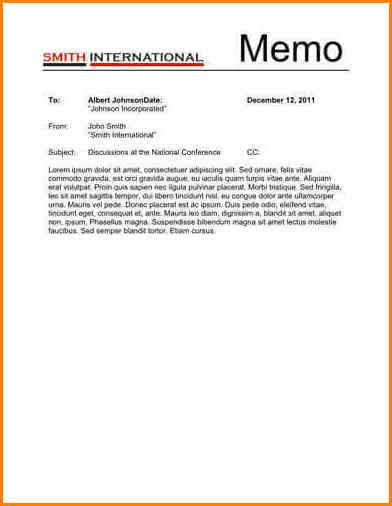7 Internal Memo Template Pictures 7 Internal Memo Template Images